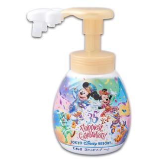 ディズニー(Disney)の新品 泡ハンドソープ ディズニー ミッキーシェイプ 35周年(ボディソープ / 石鹸)