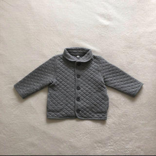 無印良品 MUJI ベビー キルトジャケット アウター 80