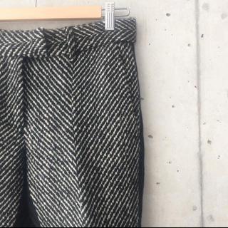 サカイ(sacai)の♢グリーシャ様♢専用  sacai  ツイード&wool センタープレスパンツ (その他)