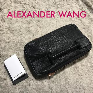 アレキサンダーワン(Alexander Wang)のアレキサンダーワン ラムレザー クラッチ 美品(クラッチバッグ)