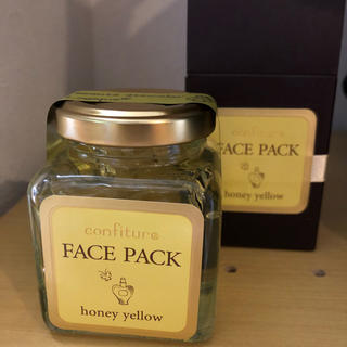 confiture FACE PACK honey yellow(パック/フェイスマスク)