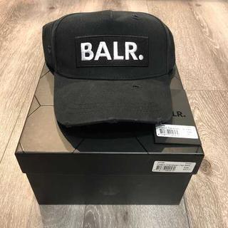 エフシーアールビー(F.C.R.B.)の【大人気】BALR. クラッシュ加工 ボックスロゴ キャップ ボーラー (キャップ)