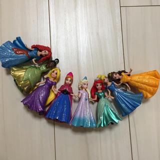 ディズニー(Disney)のマジッククリップ  ディズニープリンセス 着せ替え フィギュア ドール(キャラクターグッズ)