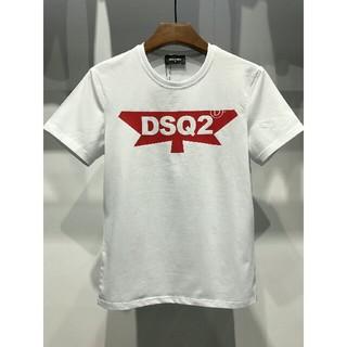 DSQUARED2 - (ディースクエアード) DSQUARED2 シンプル 無地 半袖 Tシャツ L