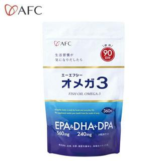 AFC 徳用90日分(360粒)フィッシュオイルオメガ3 EPA&DHA&DPA(その他)