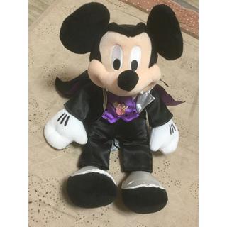 ディズニー(Disney)のハワイ ディズニーストアー限定☆ハロウィン ミッキー マウスぬいぐるみ(キャラクターグッズ)