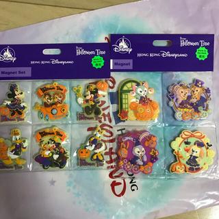 ディズニー(Disney)の香港ディズニー ハロウィンマグネットセット クッキー(キャラクターグッズ)