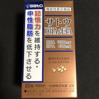 佐藤製薬 SATO  DHA  &  EPA(その他)