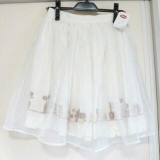 ディズニー(Disney)の未使用ディズニーふんわりスカート(ひざ丈スカート)