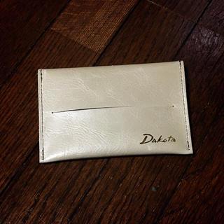 ダコタ(Dakota)の《新品》ダコタ 革製 ポケットティッシュケース(その他)