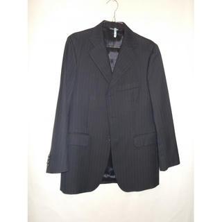バーニーズニューヨーク(BARNEYS NEW YORK)のBARNEYS NEWYORK メンズ ピンストライプ パンツ スーツ ブラック(セットアップ)