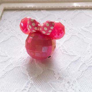 ディズニー(Disney)のミニーちゃん 光る指輪(リング(指輪))