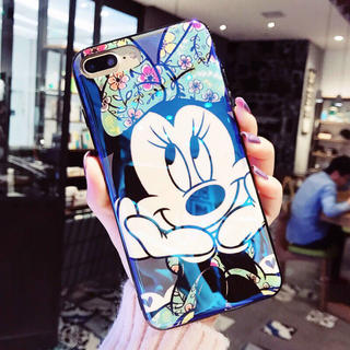 ディズニー(Disney)のミッキーマウスiPhoneケース(iPhoneケース)