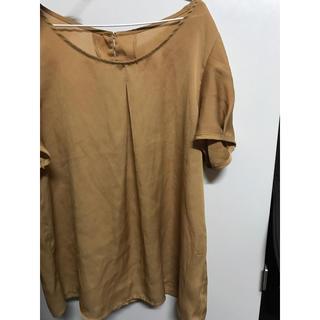 ジーユー(GU)のシフォンブラウス (シャツ/ブラウス(半袖/袖なし))