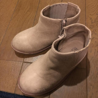 ザラ(ZARA)のザラ ZARA 16 ブーツ 女の子 オシャレ 送料込み(ブーツ)