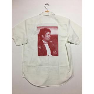 シュプリーム(Supreme)のSupreme マイケルジャクソン ワークシャツ 未使用品 m サイズ(Tシャツ/カットソー(半袖/袖なし))