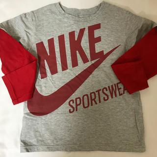 ナイキ(NIKE)のkids シャツ(Tシャツ/カットソー)