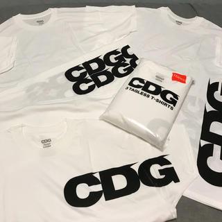 コムデギャルソン(COMME des GARCONS)のCDG×Hanes 3枚セット T-shirts 新品未使用 送料込 即発送(Tシャツ/カットソー(半袖/袖なし))