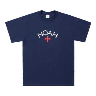 NOAH NYC 18SS CORE LOGO S/S TEE 紺L(Tシャツ/カットソー(半袖/袖なし))