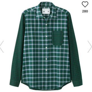 キムジョーンズ(KIM JONES)のキムジョーンズ KIM JONES チェックシャツ 新品 ヴィトン シュプリーム(シャツ)