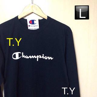 チャンピオン(Champion)のChampion 長袖Tシャツ Supreme EMODA Ungrid好きに(Tシャツ/カットソー(七分/長袖))
