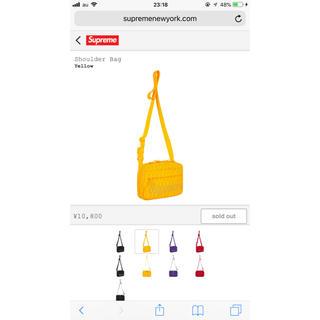 シュプリーム(Supreme)のSupreme shoulder bag 2018(ショルダーバッグ)