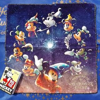 ディズニー(Disney)の新商品★ディズニー★ミッキー 90周年★タオル★Anniversary Star(タオル/バス用品)