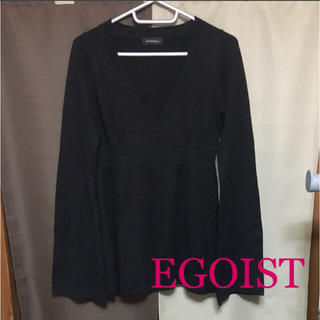 エゴイスト(EGOIST)のEGOIST♡ニットトップス(カットソー(長袖/七分))