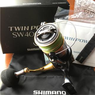 シマノ(SHIMANO)のシマノ ツインパワーSW4000XG(リール)