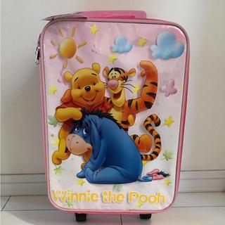 ディズニー(Disney)の新品未使用タグ付き☆ プーさん キャリーバッグ(キャリーバスケット)