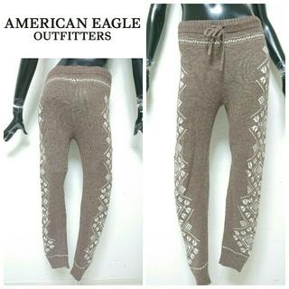 アメリカンイーグル(American Eagle)のAmerican eagle*ニットパンツ(カジュアルパンツ)