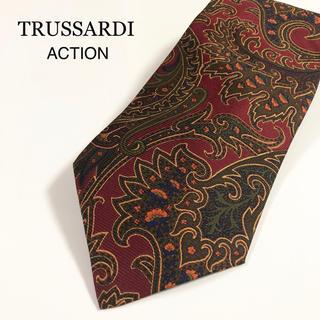 トラサルディ(Trussardi)の★美品・ほぼ未使用★TRUSSARDI  ACTION イタリア製 トラサルディ(ネクタイ)