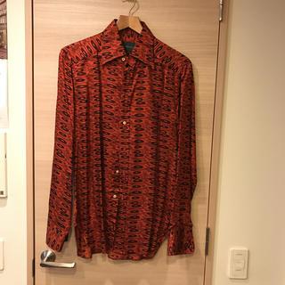トラサルディ(Trussardi)のトラサルディ シルクシャツ(シャツ)