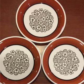 アラビア(ARABIA)のGefle ゲフレ アグネッタ ディナープレート 3枚set(食器)