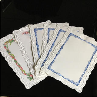 レターカード 6枚セット(カード/レター/ラッピング)