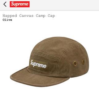 シュプリーム(Supreme)のNapped Canvas Camp Cap(キャップ)
