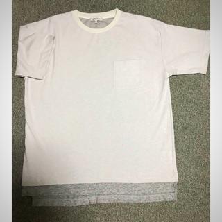 グローバルワーク(GLOBAL WORK)の新品グローバルワーク☆カットソー半袖 XL(Tシャツ/カットソー(半袖/袖なし))