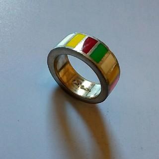 ポールスミス(Paul Smith)のポールスミス リング 指輪 ネックレス マルチストライプ マルチカラー タイピン(ネックレス)
