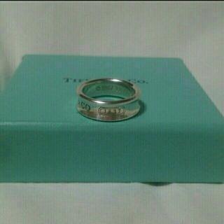ティファニー(Tiffany & Co.)のティファニー リング 1837 シルバー 925  指輪 ladies 13号(リング(指輪))