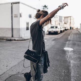 アレキサンダーマックイーン(Alexander McQueen)のzadig&voltaire スカルチェーンバッグ(ショルダーバッグ)
