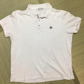 モンクレール(MONCLER)の【美品】モンクレール ポロシャツ(ポロシャツ)