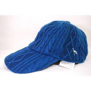 アダバット(adabat)の新品 adabat アダバット ニットキャップ ホワイト 帽子 キャップ(ウエア)