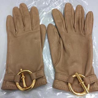 エルメス(Hermes)のエルメス  グローブ 手袋 61/2 シャネル好きにも(手袋)