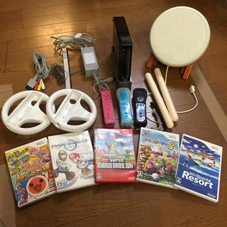 ウィー(Wii)のWii いろいろセット(家庭用ゲーム本体)