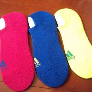 アディダス(adidas)のadidasアディダスの靴下3足(ソックス)