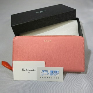 ポールスミス(Paul Smith)の新品未使用 ポールスミス 長財布 ピンク(財布)