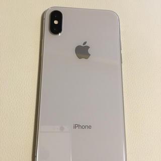 アイフォーン(iPhone)のiPhonex 本体 シルバー 256GB ソフトバンク(スマートフォン本体)