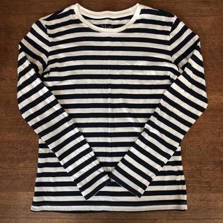ムジルシリョウヒン(MUJI (無印良品))の無印良品  ボーダーカットソー ロンT(Tシャツ(長袖/七分))