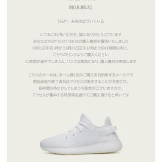 アディダス(adidas)のYEEZY boost 350 27.5cm(スニーカー)