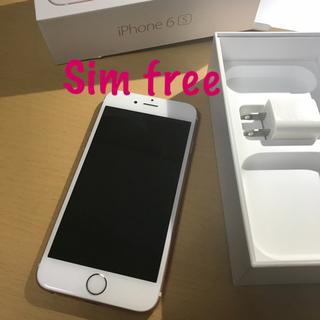 アップル(Apple)のApple iPhone6s 64gb SIMフリー(スマートフォン本体)